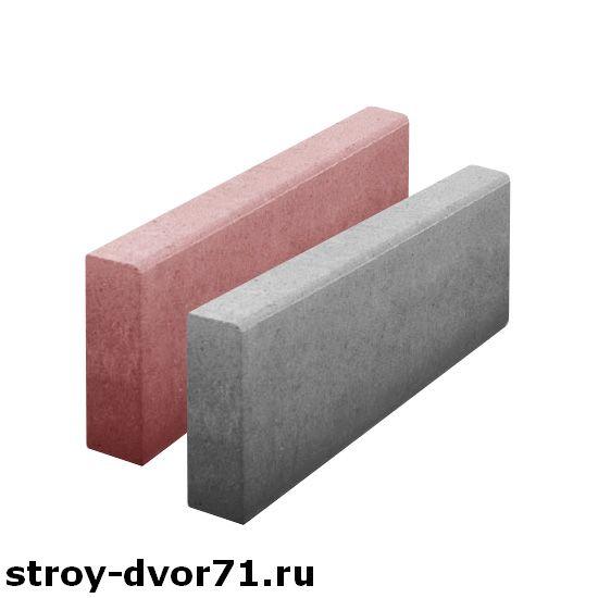 Применение бордюра бетонного садового