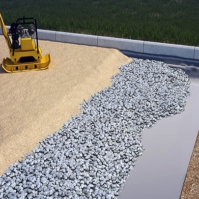 Геотекстиль под плитку тротуарную: технология укладки