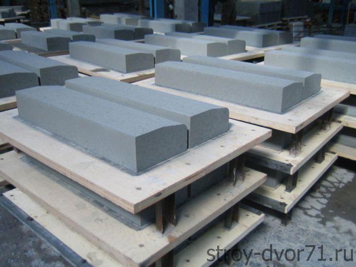 Основные размеры по ГОСТ для бордюрного камня