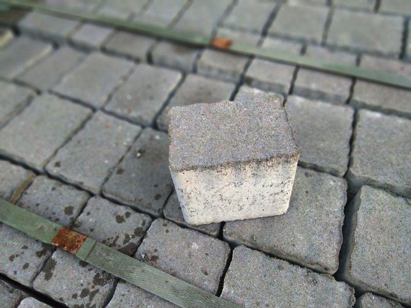 Тротуарная плитка - 80 мм