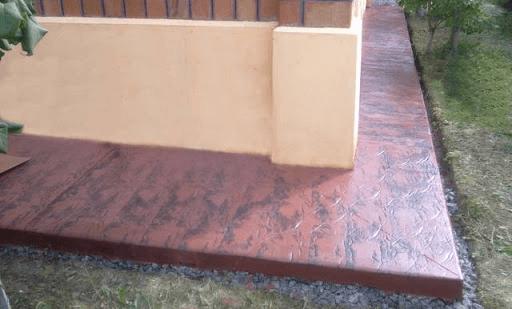 Отмостка вокруг дома на существующий бетон