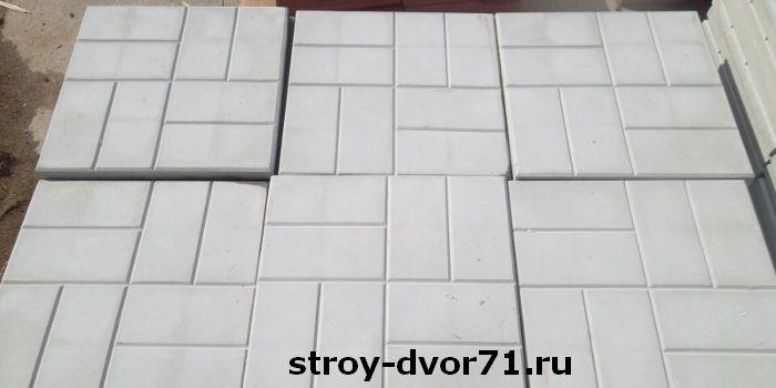 Практическое применение плитки 40х40х5 см