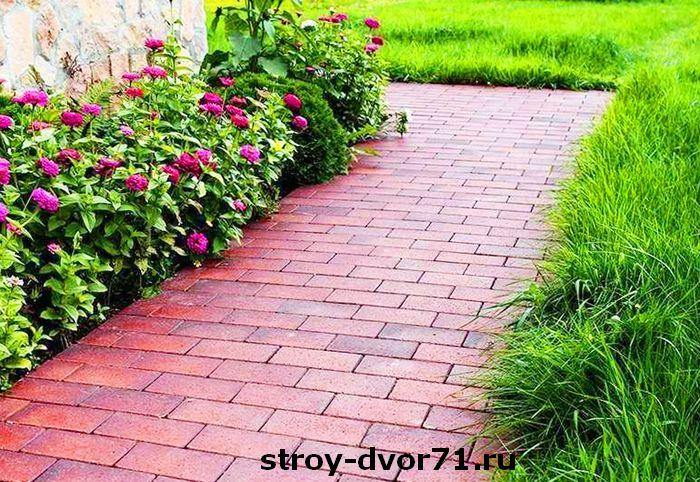 Тротуарная плитка для городских дорожек