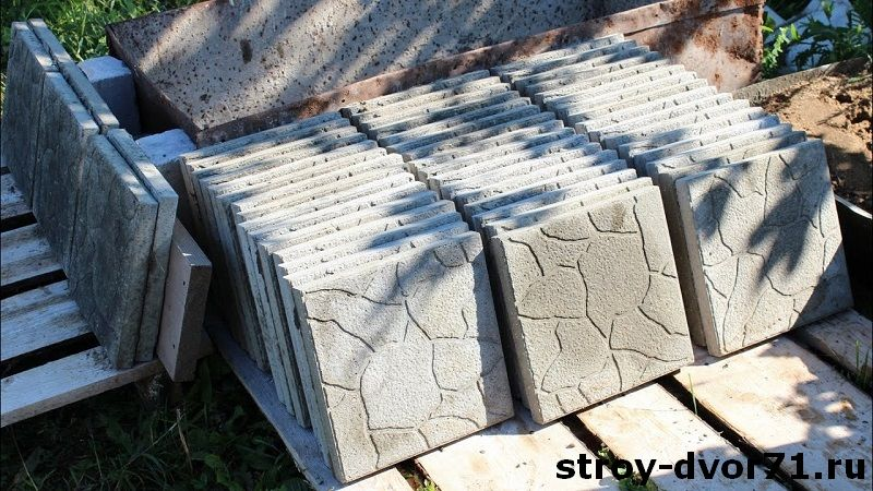 Цена плитки тротуарной 300х300 со склада производителя в Туле