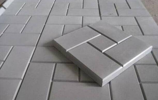 Тротуарная плитка 5 см