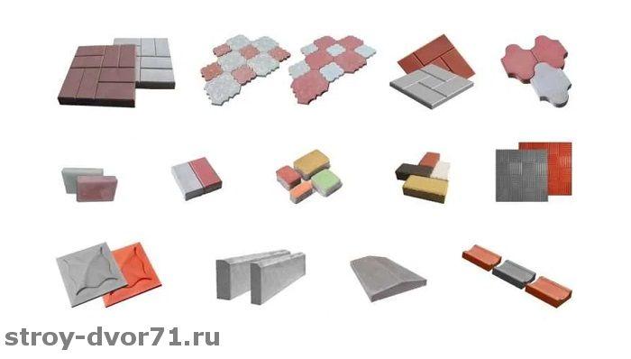 Укладка тротуарной плитки на песок без цемента - выбор модулей